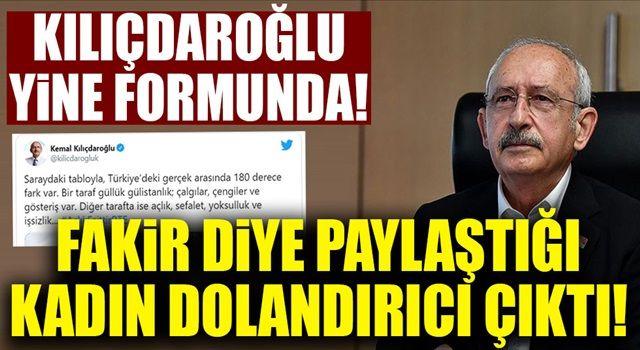 Kılıçdaroğlu'nun fakir diye paylaştığı kadın dolandırıcı çıktı!