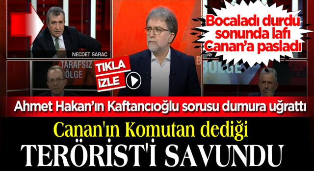 YANDAŞ Necdet Saraç, Ahmet Hakan'ın 'Kaftancıoğlu' sorusuyla rezil oldu
