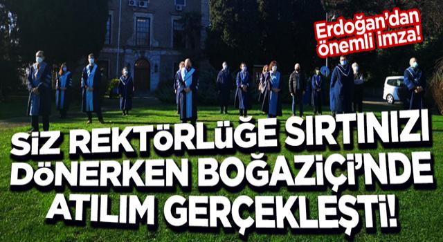 Başkan Erdoğan imzaladı! Boğaziçi Üniversitesi'ne Hukuk Fakültesi ve İletişim Fakültesi
