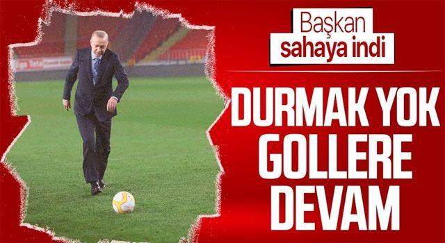 Cumhurbaşkanı Erdoğan'dan gülümseten paylaşım!