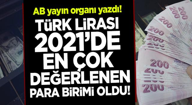 Euronews yazdı: Türk Lirası 2021'de en çok değerlenen para birimi oldu