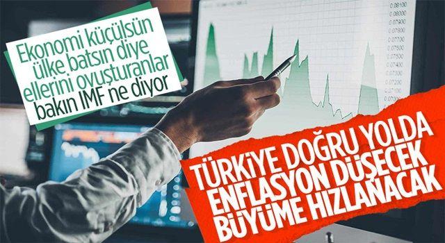 IMF Türkiye Masası: Politika değişikliği enflasyonu kademeli olarak düşürecektir