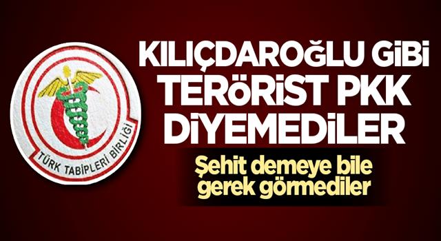 Kılıçdaroğlu gibi TBB de terörist PKK diyemedi