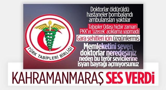 TTB, Türk hekimlerine ihanet ediyor