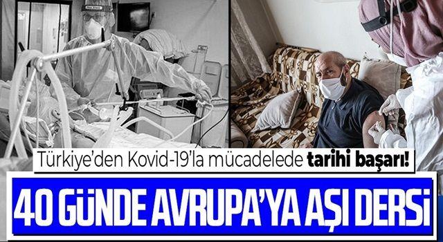 Türkiye 40 günde 27 Avrupa ülkesini solladı: 6.5 milyon kişiyi aşılandı