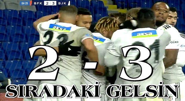 Beşiktaş'ı durdurabilene aşk olsun!