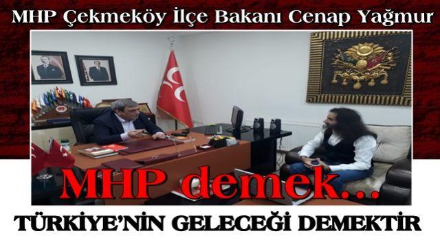 CENAP YAĞMUR: MHP DEMEK TÜRKİYE'NİN GELECEĞİ DEMEKTİR!