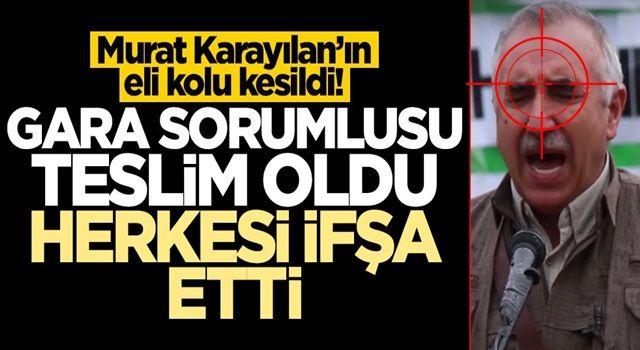 Murat Karayılan'ın eli kolu kesildi! En yakınındaki isimlerden biri teslim oldu, herkesi ifşa etti