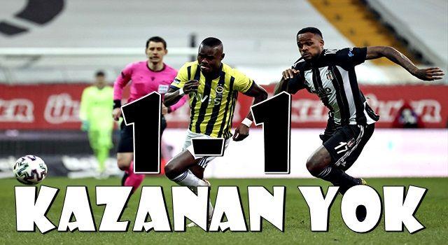 Ne Beşiktaş ne Fenerbahçe! Derbide kazanan yok
