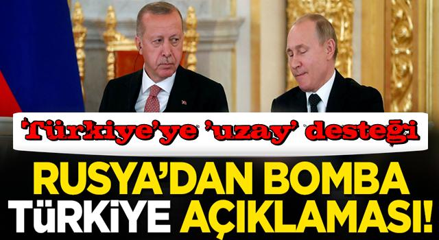 Rusya'dan Türkiye'ye 'uzay' desteği: Katılmaktan mutluluk duyarız!