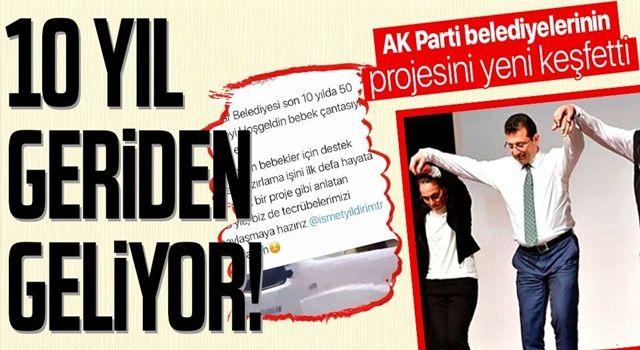 AK Parti ilçe belediyelerinin 10 yıldır uyguladığı 'bebek destek paketi'ni İBB Başkanı Ekrem İmamoğlu yeni keşfetti!
