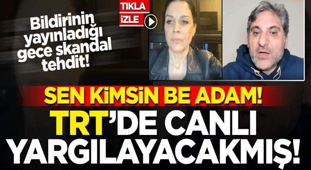 CHP'li Aykut 'dan büyük alçaklık: TRT'de canlı yargılayacağız!