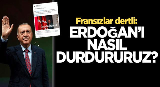 Fransız medyası dertli: Erdoğan'ı nasıl durdururuz?