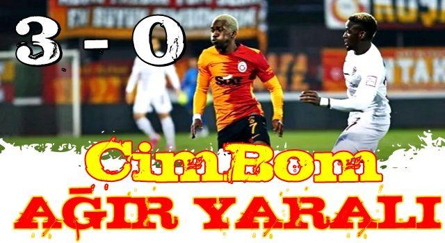 Galatasaray zirve yarışında ağır yara aldı!