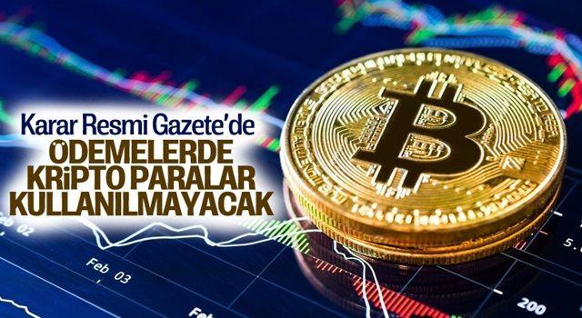 Resmi Gazete'de yayımlandı! Kritik kripto para kararı