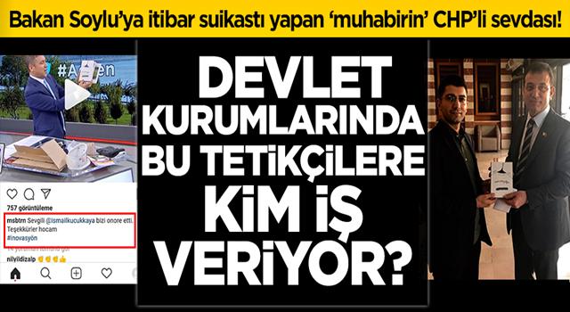 Anadolu Ajansı'ndan kovulan 'muhabir' Musab Turan'ın CHP'li sevdası!