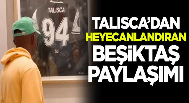 Anderson Talisca'dan heyecanlandıran Beşiktaş paylaşımı