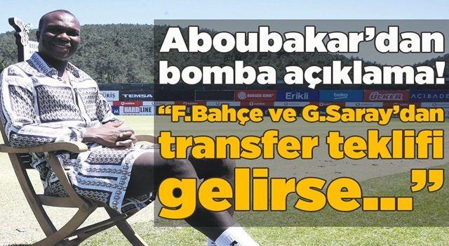 """Beşiktaş'ta Vincent Aboubakar'dan bomba açıklama! """"Fenerbahçe ve Galatasaray'dan transfer teklifi gelirse..."""""""