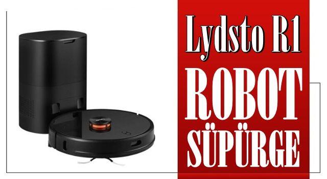 Lydsto R1 Kendi Kendini Boşaltan Robot Süpürge, Doğuştan Gözü Kara