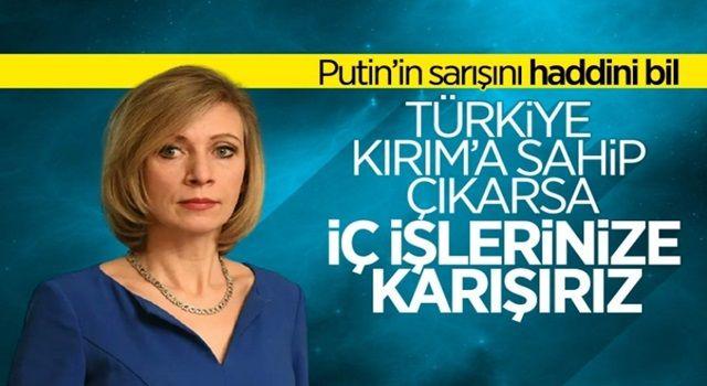 Mariya Zaharova: Türkiye'nin sorunlarıyla ilgilenmek zorunda kalabiliriz