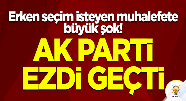 AK Parti, CHP, İYİ Parti, BBP, SP ve Gelecek Partisi yarıştı! Kazanan bakın kim oldu...