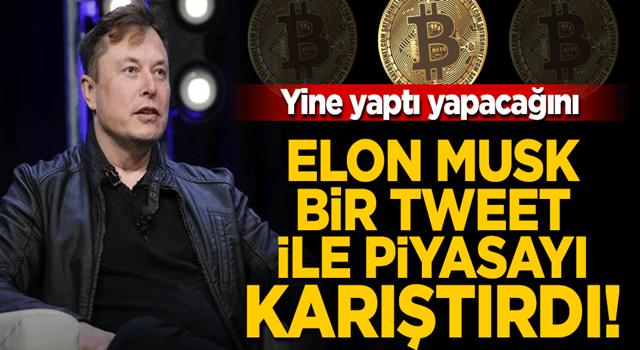 Elon Musk yine yaptı yapacağını! Bir tweetle kripto para piyasasını karıştırdı