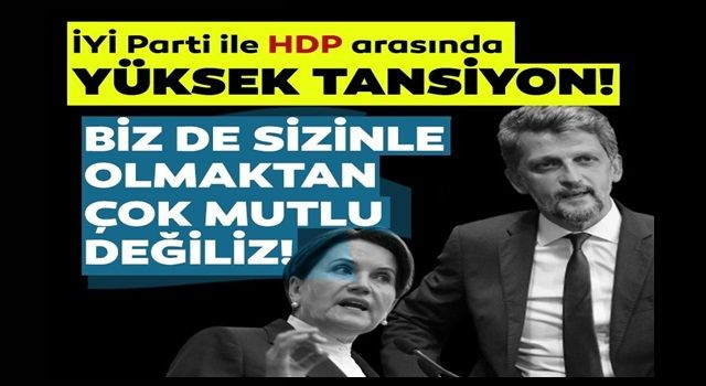 HDP'li Garo Paylan'dan CHP ve İYİ Parti'ye tepki: Biz de sizinle olmaktan çok mutlu değiliz