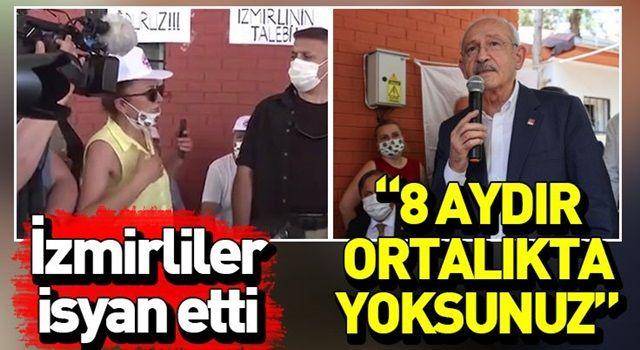 Kemal Kılıçdaroğlu'na İzmirli depremzededen tepki