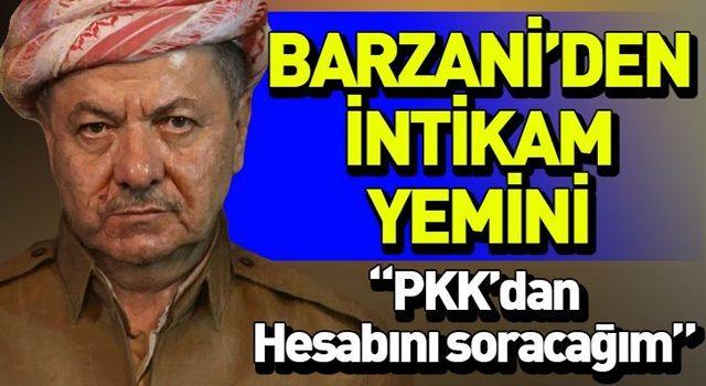 Mesut Barzani peşmergelerini öldüren PKK'ya karşı intikam sözü verdi