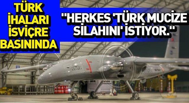 Türkiye'nin İHA gücü, İsviçre medyasında
