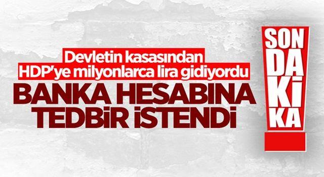 Yargıtay'dan HDP'nin banka hesabına tedbir konulması talebi
