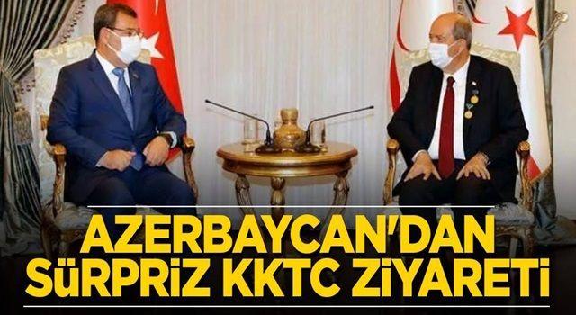 Azerbaycan'dan KKTC'ye sürpriz ziyaret
