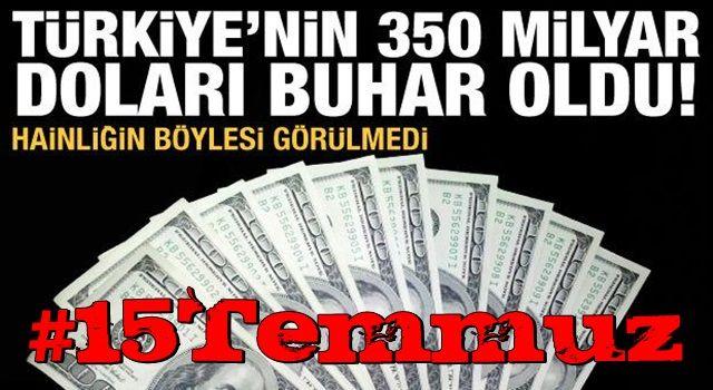 Hainliğin böylesi görülmedi! Türkiye'ye 350 milyar dolara mal oldu