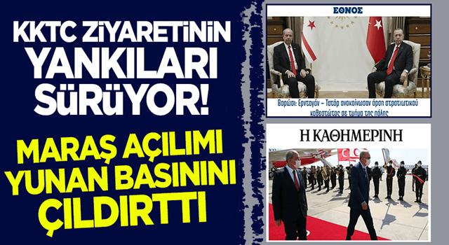 KKTC ziyaretinin yankıları sürüyor! Maraş açılımı Yunan basınını çıldırttı