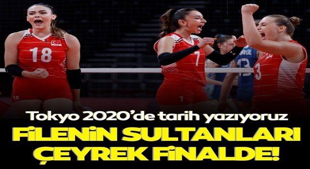 Son dakika: Filenin Sultanları Tokyo Olimpiyatları'nda çeyrek finalde!