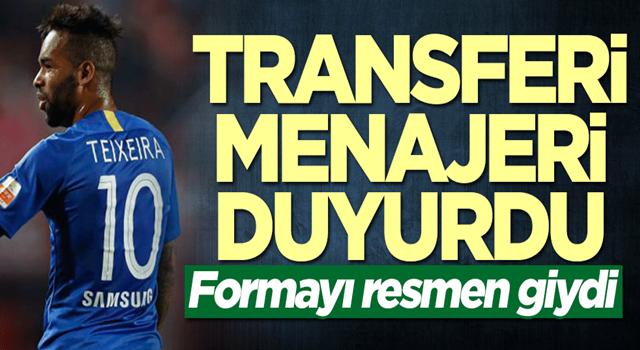Alex Teixeira formayı giydi! Transferi menajeri duyurdu