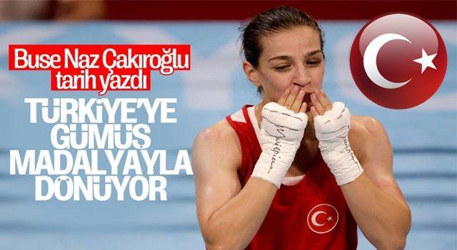 Buse Naz Çakıroğlu, olimpiyat ikincisi oldu