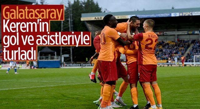 Galatasaray, St Johnstone'ı 4-2 yendi