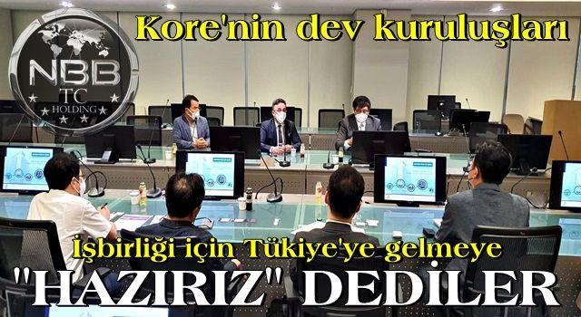 Kore'nin dev firmaları Türkiye ile işbirliğine hazırız mesajı verdiler