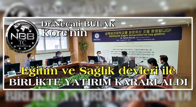 NBBTC'den Kore'nin Sağlık Ve Eğitim devleri SAHMYOOK ve GOOD WİLL EDU ile İşbirliği anlaşması