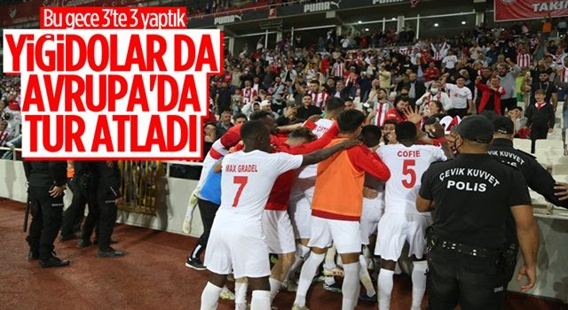 Sivasspor turu geçti