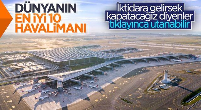 İstanbul Havalimanı, dünyanın en iyi ikinci havalimanı oldu