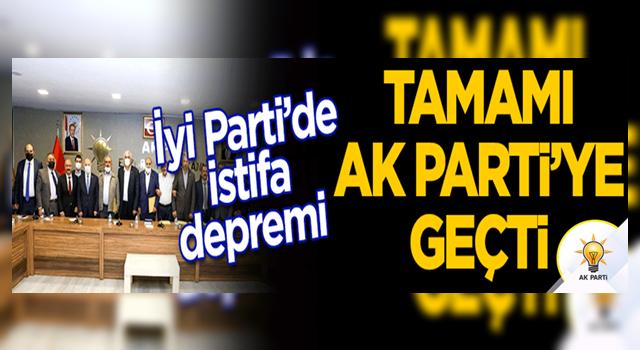 İYİ Parti'de Horasan teşkilatında istifa depremi! Tamamı AK Parti'ye geçti