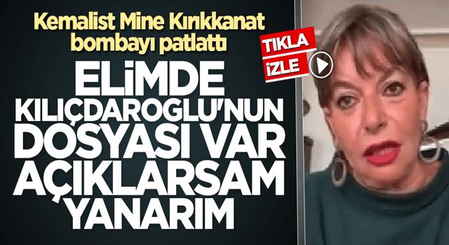 Kemalist Mine Kırıkkanat bombayı patlattı