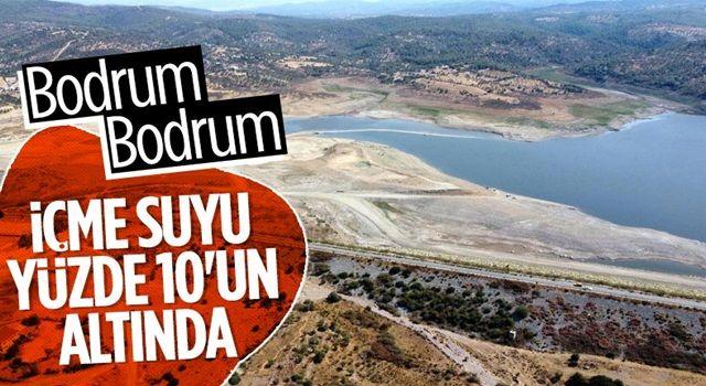 Mumcular Barajı, dolulukta yüzde 10'un altına geriledi