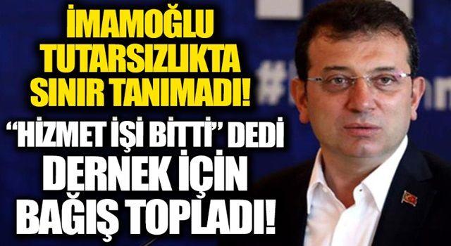 CHP'li İBB Başkanı Ekrem İmamoğlu'nun 'dernek' tutarsızlığı! ÇYDD adına 'bağış' çağrısı yapıp çalışmalar yürüttü