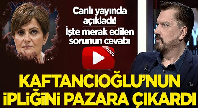 Hakan Bayrakçı: Canan Kaftancıoğlu PKK'ya yakın diye CHP'de tutuluyor!