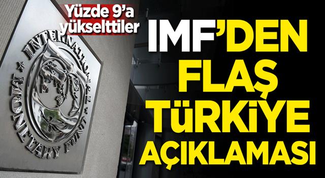 IMF'den flaş Türkiye açıklaması