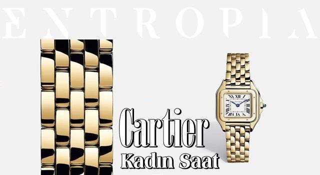 Kadınlar için En İyi Saat Modelleri Cartier Kadın Saat