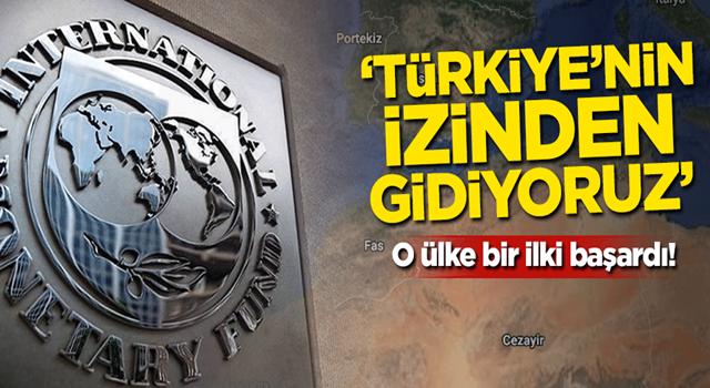 O ülke bir ilki başardı! 'Türkiye'nin izinden gidiyoruz'